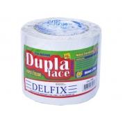 FITA DUPLA FACE TISSUE 16MM X 30M C/6RL - DELFIX