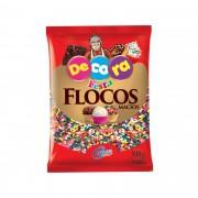 FLOCOS  MACIO COLORIDO DECORA 500G