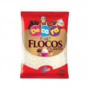 FLOCOS  MACIO SABOR CHOCOLATE BRANCO DECORA 500G