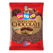 FLOCOS  MACIO SABOR CHOCOLATE DECORA 500G - CACAU FOODS