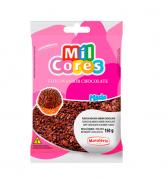 FLOCOS MACIOS SABOR CHOCOLATE MIL CORES 150G - MAVALÉRIO
