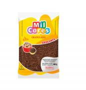 GRANULADO CROCANTE SABOR CHOCOLATE  500G - MAVALÉRIO