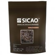 GRANULADO DE CHOCOLATE SICAO SEMI AMARGO 1KG