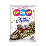 MICRO CEREAL CROC. BRANCO/PRETO 500GR