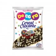 MINI CEREAL CROCANTE BCO/PRETO 80GRS - CACAU FOODS