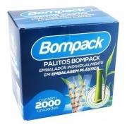 PALITO DE BAMBU EMBALADO NO PLÁSTICO C/2000UN - BOMPACK