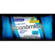 SACO DE  LIXO BOMPACK 50LT ECONÔMICO C/50UN