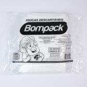 TOUCA TNT BRANCA SANFONADA C/100UN - BOMPACK
