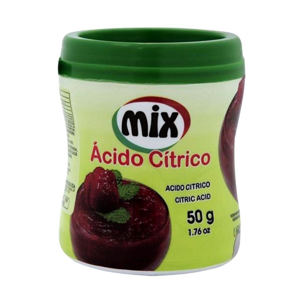 ACIDO CITRICO MIX 50GR  - Santa Bella
