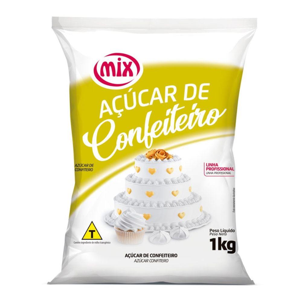 AÇUCAR DE CONFEITEIRO 1KG - MIX  - Santa Bella