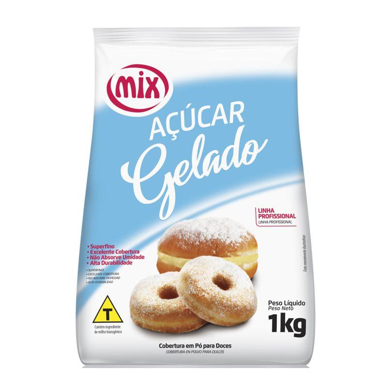 AÇUCAR GELADO COBERTURA PARA DOCES MIX 1KG  - Santa Bella