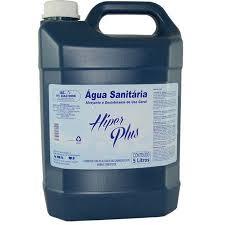AGUA SANITARIA HIPERPLUS 5 LTS  - Santa Bella
