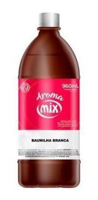 AROMA ALIMENTICIO 960ML BAUNILHA BRANCA  - Santa Bella