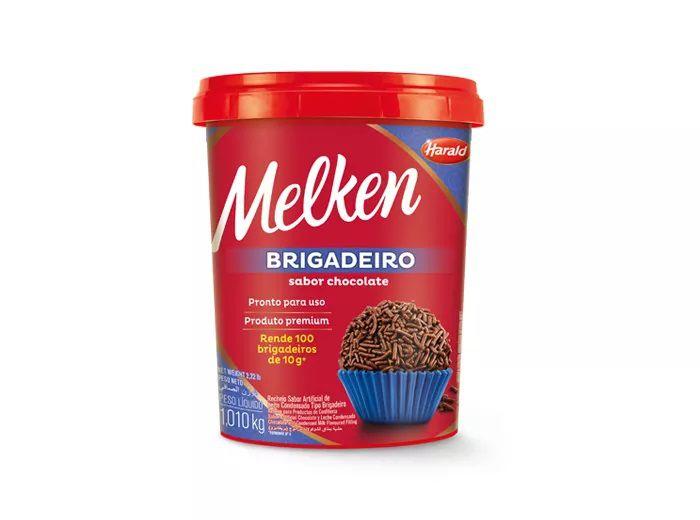 Brigadeiro Melken 1kg  - Harald  - Santa Bella