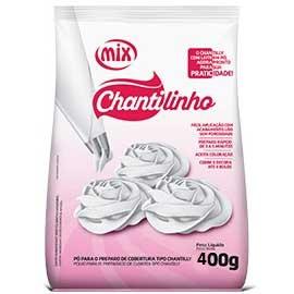 CHANTILINHO - PO PARA O PREPARO DE COBERTURA TIPO CHANTILLY -400g  - Santa Bella
