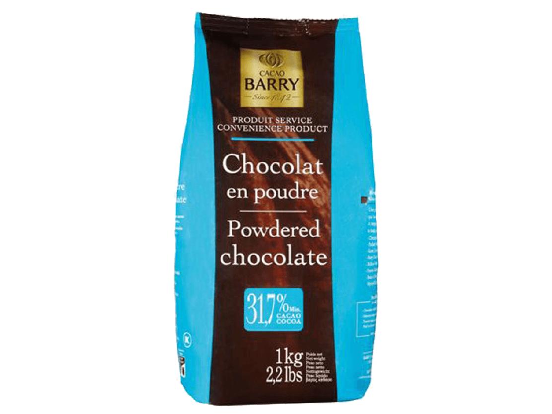 CHOCOLATE EM PÓ 31% CACAU BELGA EN POUDRE - 1KG - CALLEBAUT  - Santa Bella