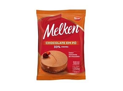 Chocolate Em Pó 33% Harald 1,050gr  - Santa Bella