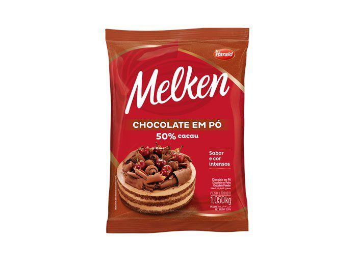 Chocolate Em Pó 50% Harald 1,050gr  - Santa Bella