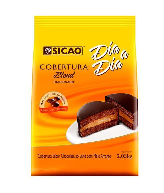 COBERTURA SICAO DIA A DIA BLEND GOTAS 2,05KG  - Santa Bella