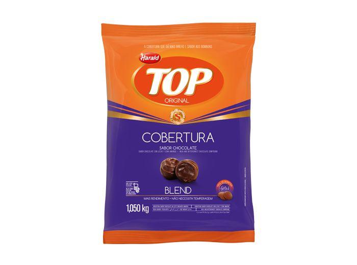 Cobertura Top Gotas Blend 1,050kg - Harald  - Santa Bella