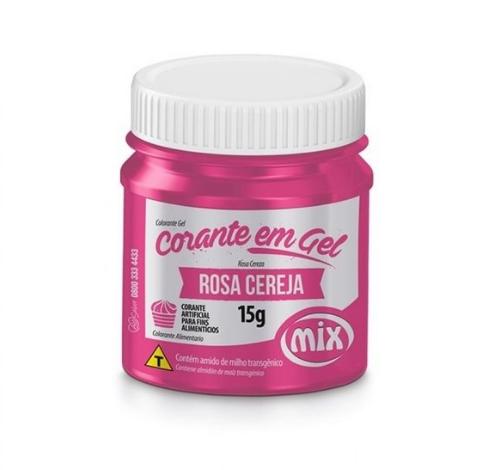 CORANTE GEL 15G ROSA CEREJA - MIX  - Santa Bella