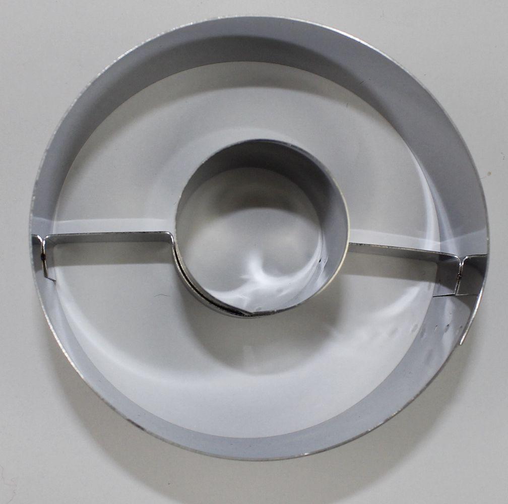 CORTADOR DONUTS N.1 6,5X4CM - 1 UNID  - Santa Bella