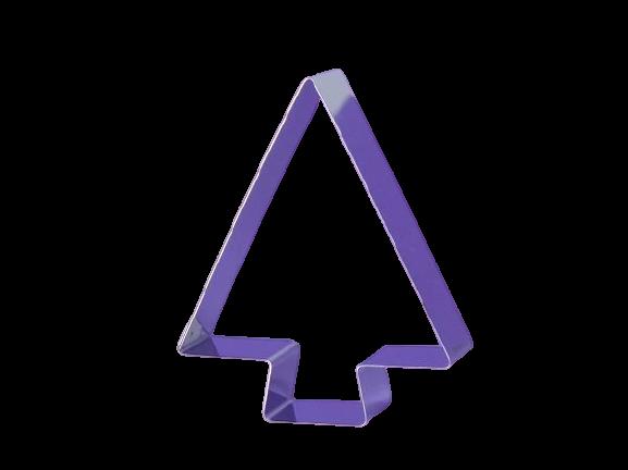 Cortador Pinheiro Liso 3 - 6 cm  - Santa Bella
