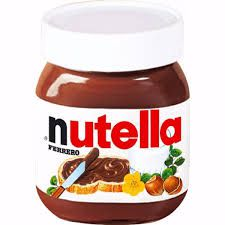 Creme de avelã com cacau Nutella 650gr  - Santa Bella