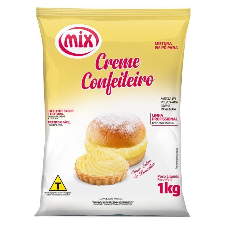 CREME DE CONFEITEIRO MIX 1KG  - Santa Bella