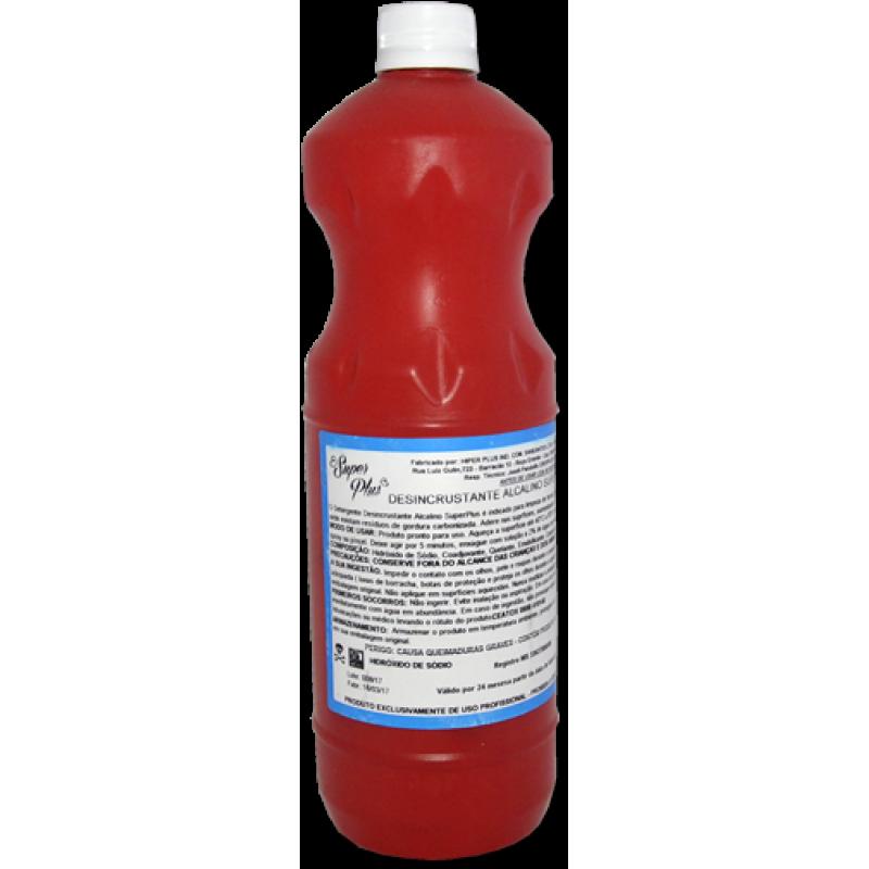 DESINCRUSTANTE SUPERPLUS - Frasco 1 litro  - Santa Bella
