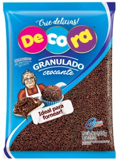 GRANULADO CROCANTE CHOCOLATE 120G - CACAU FOODS  - Santa Bella