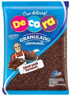 GRANULADO CROCANTE CHOCOLATE 1,005KG - CACAU FOODS  - Santa Bella