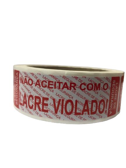 LACRE DE SEGURANÇA DELIVERY C/250 ETIQUETAS  - Santa Bella