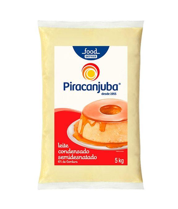LEITE CONDENSADO BAG 5KG PIRACANJUBA  - Santa Bella