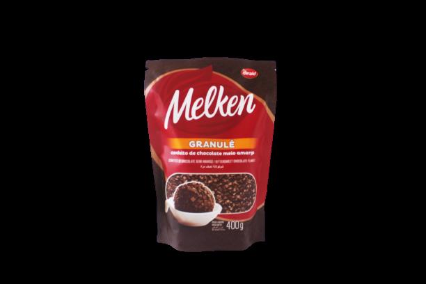 Melken Granule Meio Amargo Fino 400g - Harald  - Santa Bella
