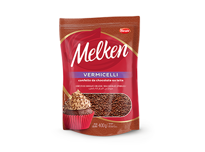 Melken Vermicelli Ao Leite 400g - Harald  - Santa Bella