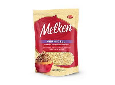 Melken Vermicelli Branco 400g - Harald  - Santa Bella