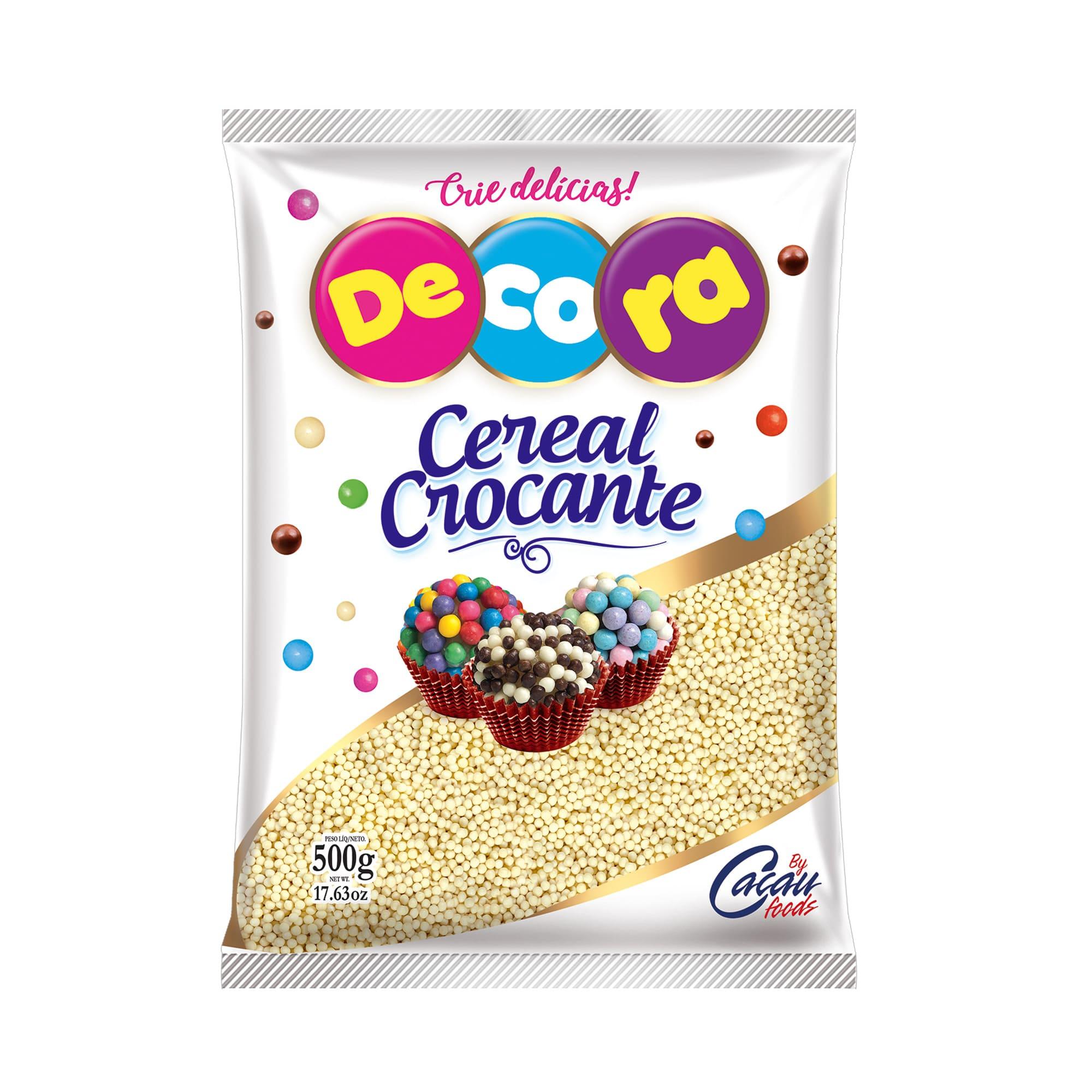 MICRO CEREAL CROCANTE BRANCO 500GRS - CACAU FOODS  - Santa Bella