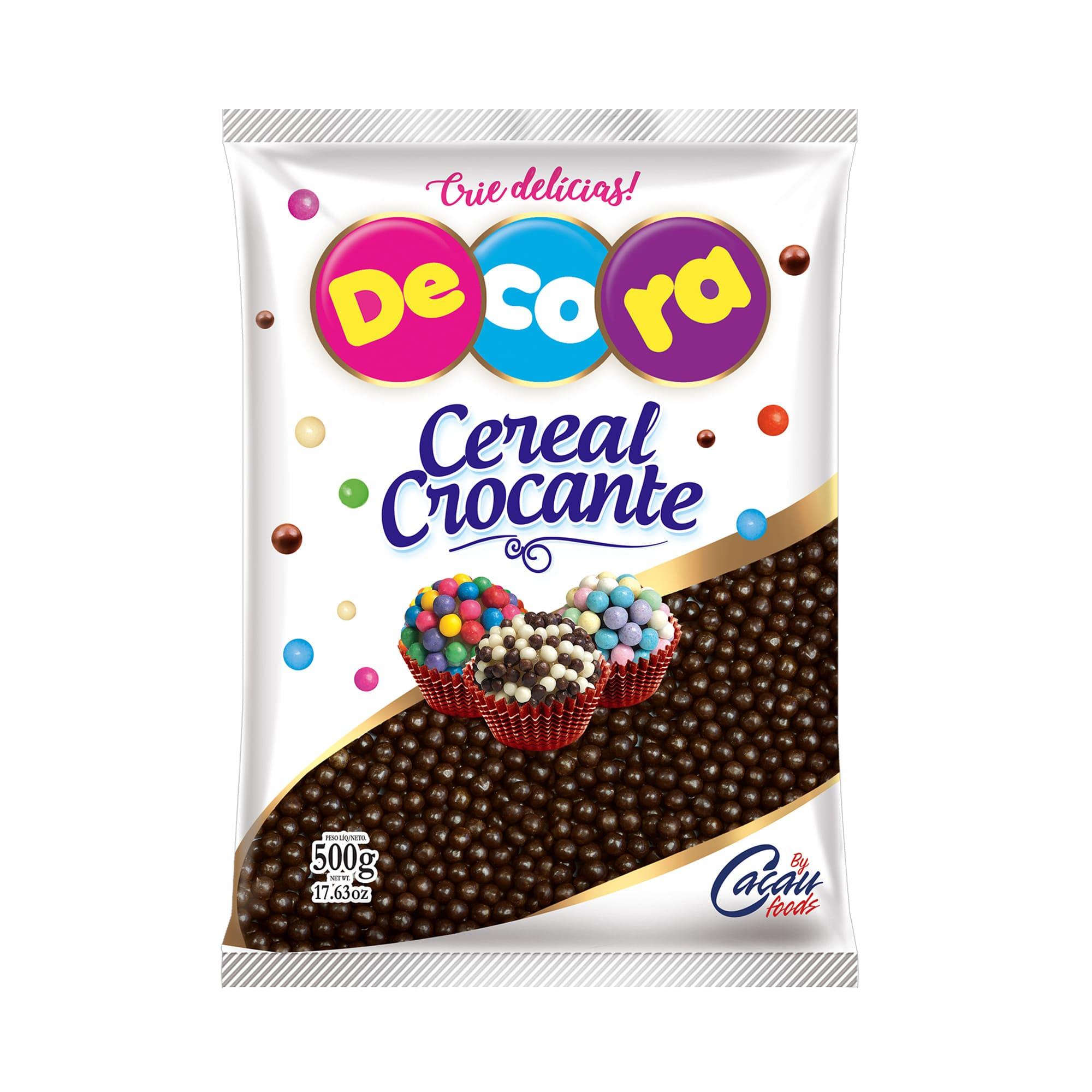 MINI CEREAL CROCANTE CHOCOLATE 500GRS - CACAU FOODS  - Santa Bella