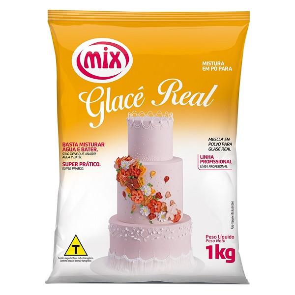 PO PARA PREPARO GLACE REAL  1KG - MIX  - Santa Bella