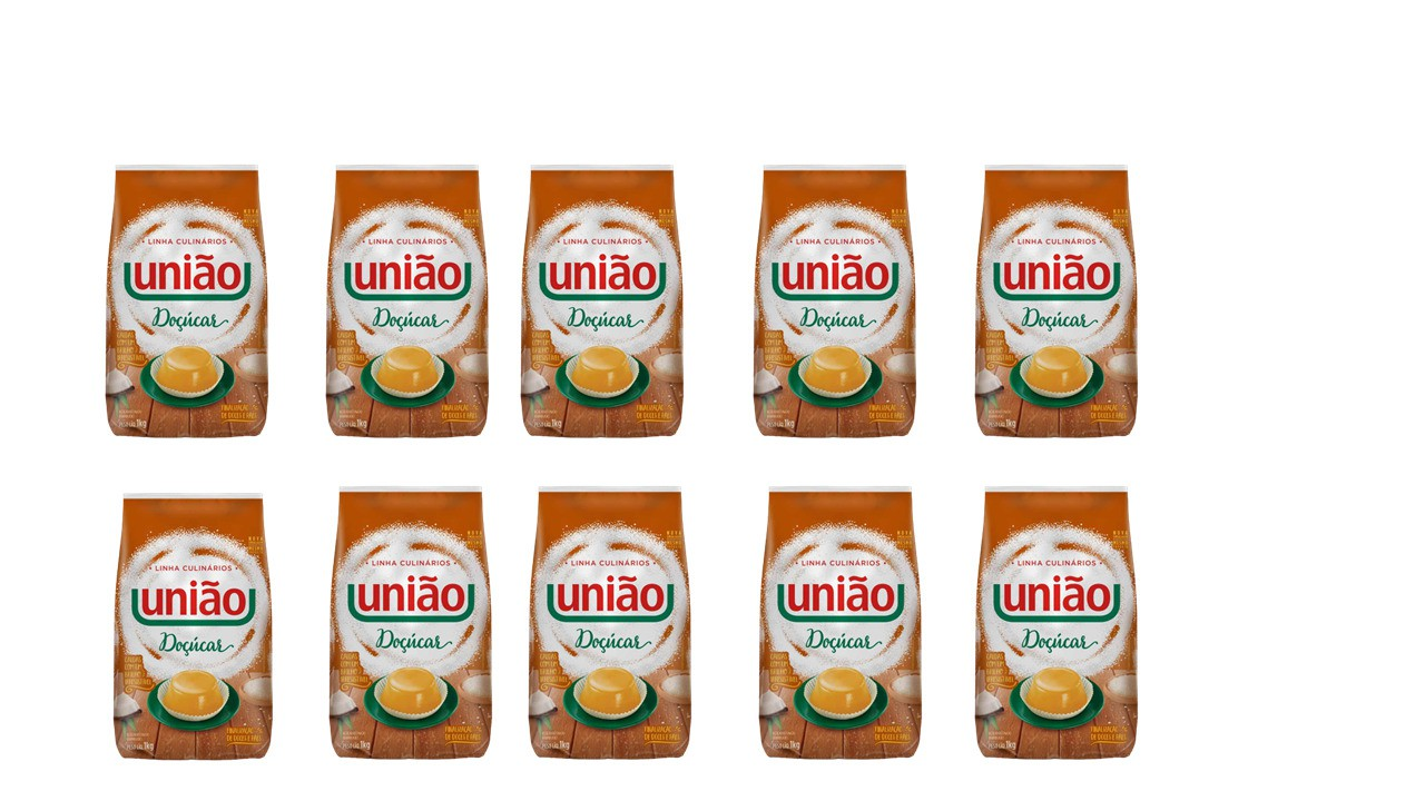 União Doçucar Preço especial com 10 unidades  - Santa Bella