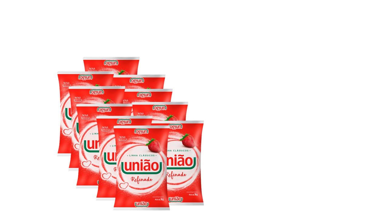 União Refinado Tipo Amorfo Preço Especial com 10 Unidades  - Santa Bella