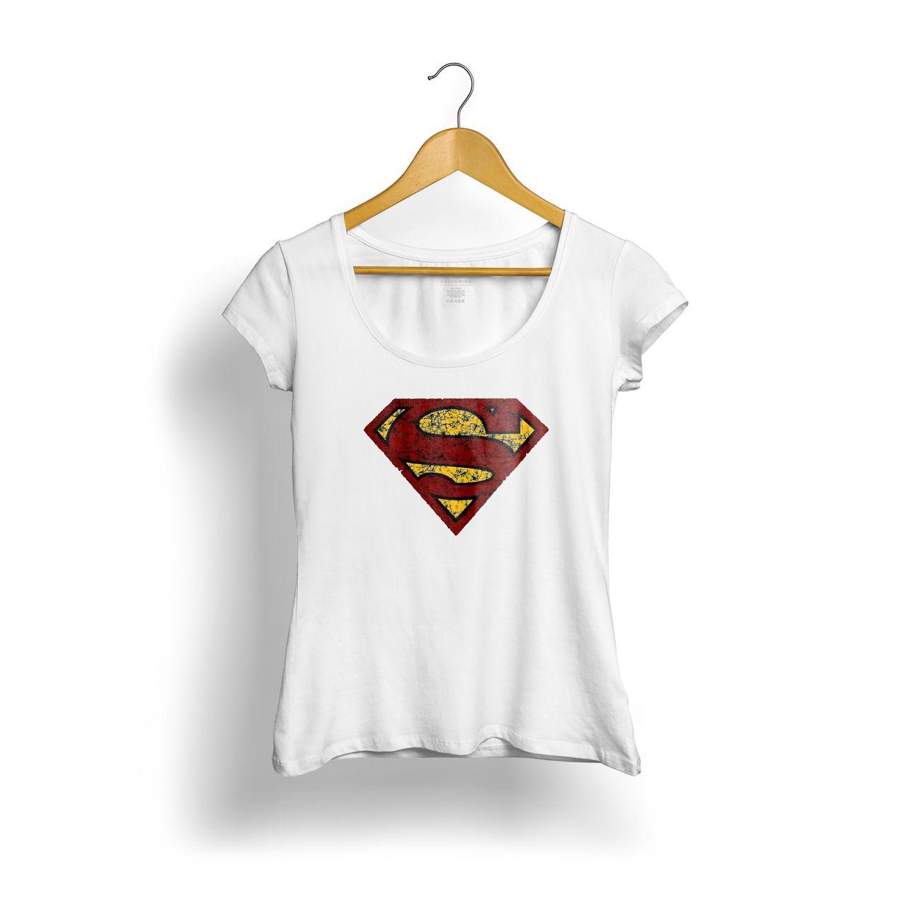 BABY LOOK SUPER MAN