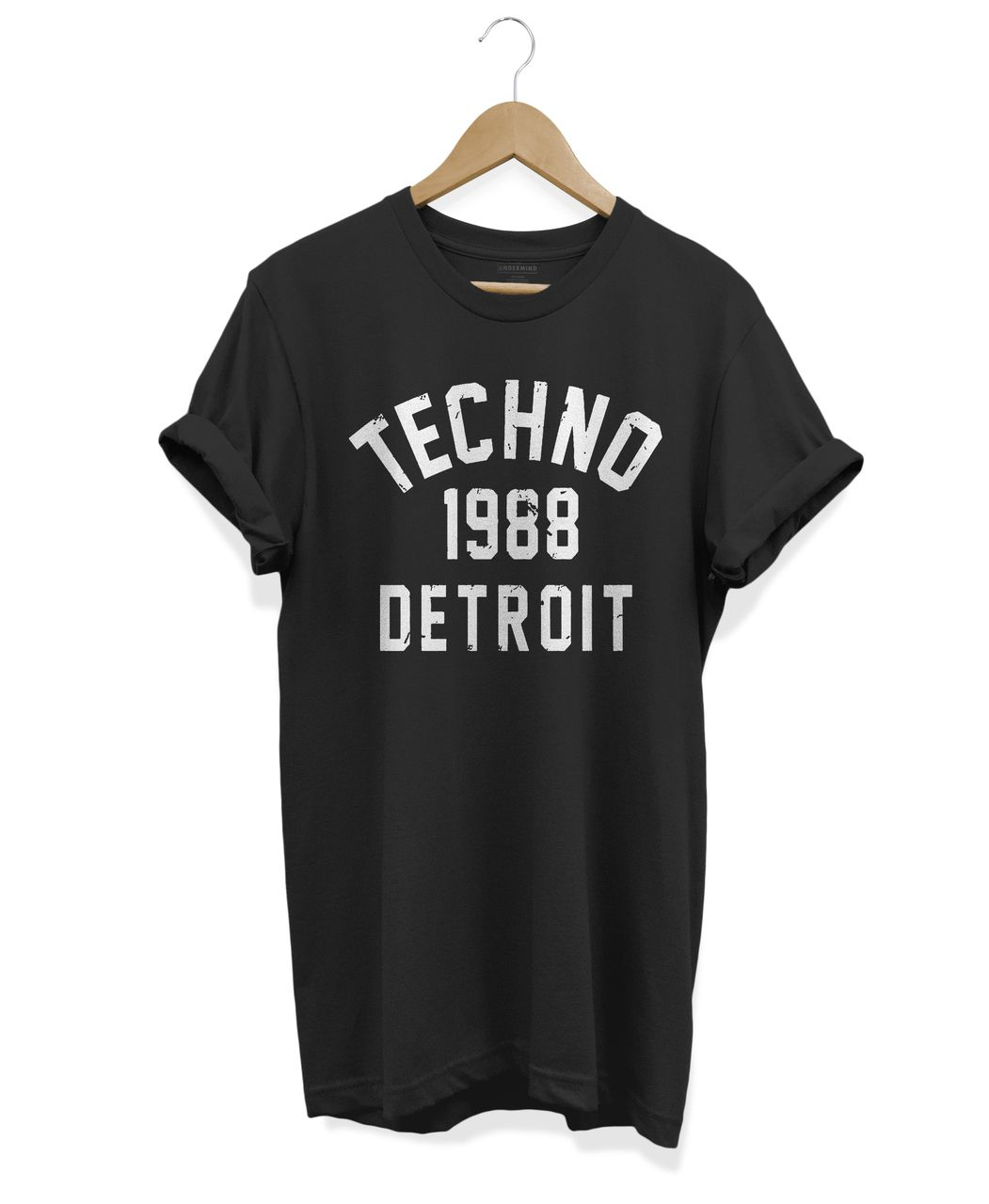 CAMISETA DETROID TECHNO 1988