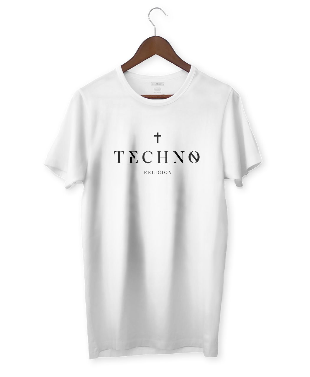 CAMISETA TECHNO RELIGION