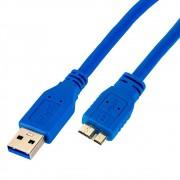 Cabo USB A para Micro B 3.0 Superspeed 1,8Mts CiriloCabos