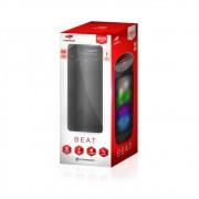 Caixa de Som C3 Tech BEAT Bluetooth LED Portátil 8W RMS Preta - SP-B50BK