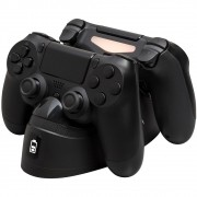 Carregador para Controle Dualshock 4 ChargPlay Duo HyperX, 2 Portas - HX-CPDU-C