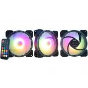 Kit Cooler Kemex AKAAFI 3Fans 120x120x25