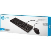 Kit Teclado E Mouse USB C2500 HP